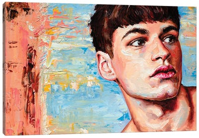 Jos Canvas Art Print