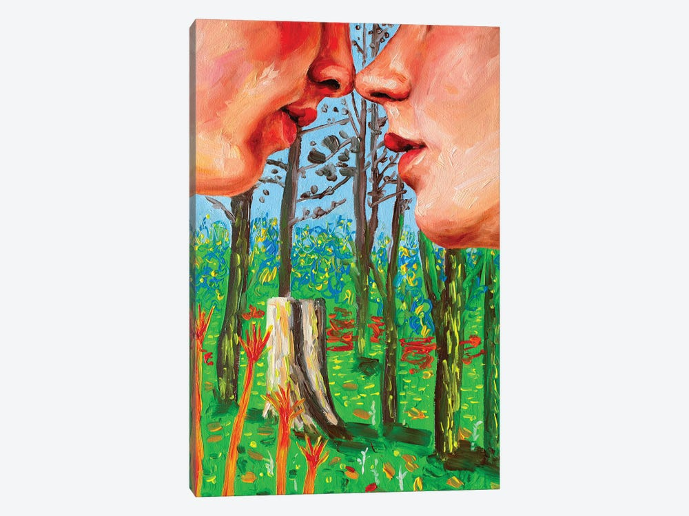 In The Forest by Oleksandr Balbyshev 1-piece Canvas Art