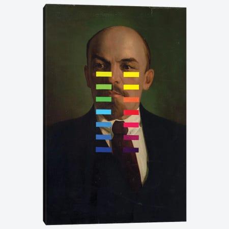 Calibrating Lenin Canvas Print #OBA210} by Oleksandr Balbyshev Canvas Artwork