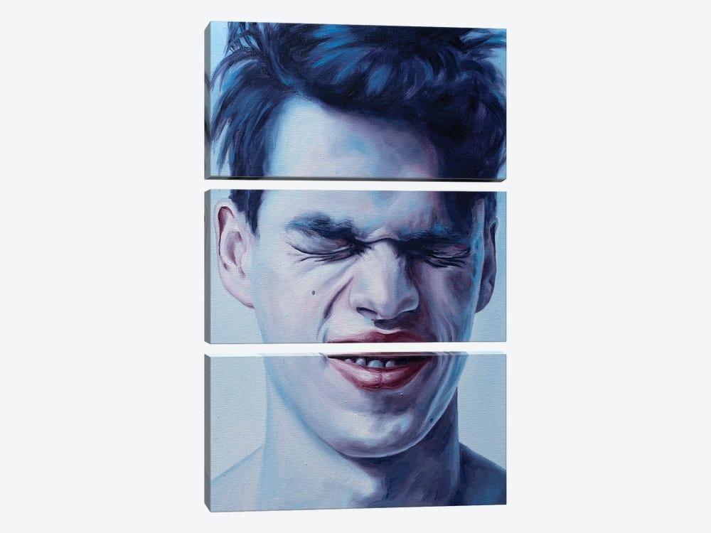 Closed Eyes by Oleksandr Balbyshev 3-piece Canvas Wall Art