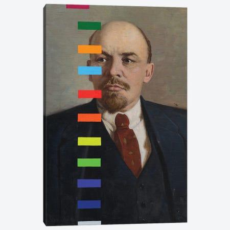 Lenin With A Color Test № II Canvas Print #OBA222} by Oleksandr Balbyshev Art Print