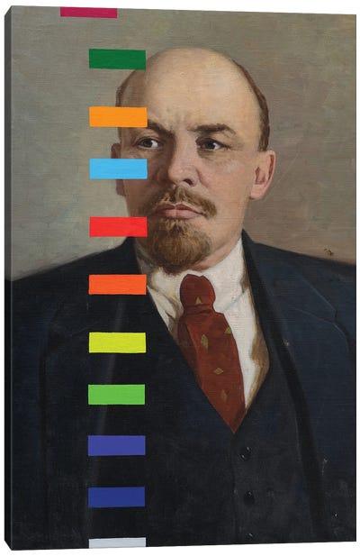Lenin With A Color Test № II Canvas Art Print