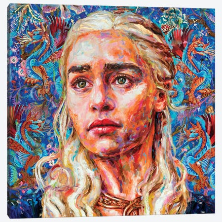 Daenerys Canvas Print #OBA22} by Oleksandr Balbyshev Canvas Art