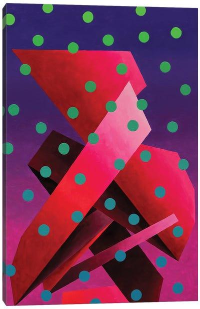 Ultraviolet Composition Canvas Art Print
