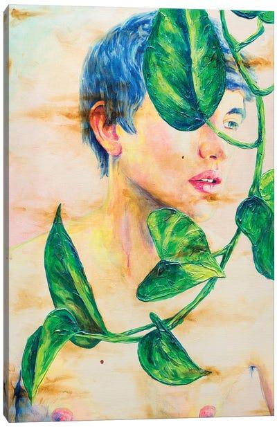 Epipremnum Canvas Art Print