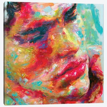 Face Study III Canvas Print #OBA27} by Oleksandr Balbyshev Art Print
