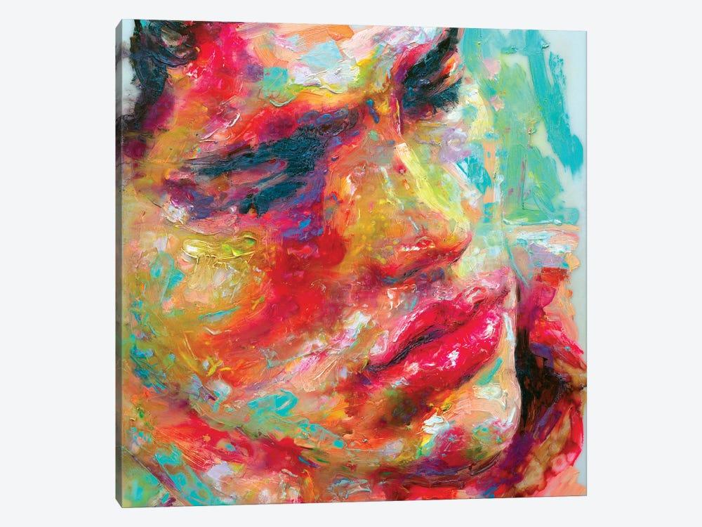 Face Study III by Oleksandr Balbyshev 1-piece Canvas Art