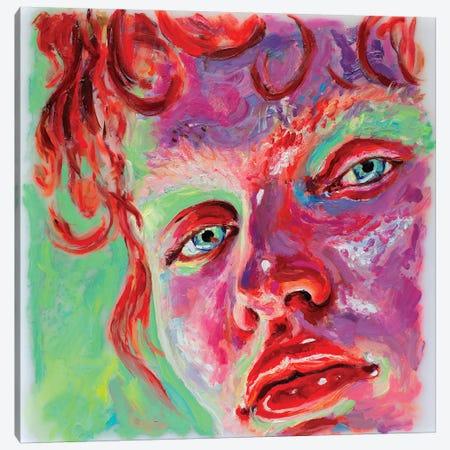 Face Study VIII Canvas Print #OBA31} by Oleksandr Balbyshev Art Print
