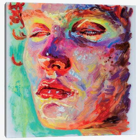 Face Study IX Canvas Print #OBA32} by Oleksandr Balbyshev Canvas Art Print