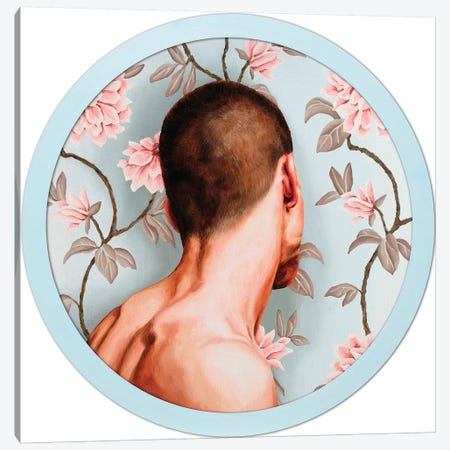 Flower Boy I Canvas Print #OBA35} by Oleksandr Balbyshev Canvas Wall Art