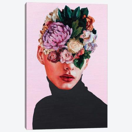 Flower Face I Canvas Print #OBA39} by Oleksandr Balbyshev Canvas Print