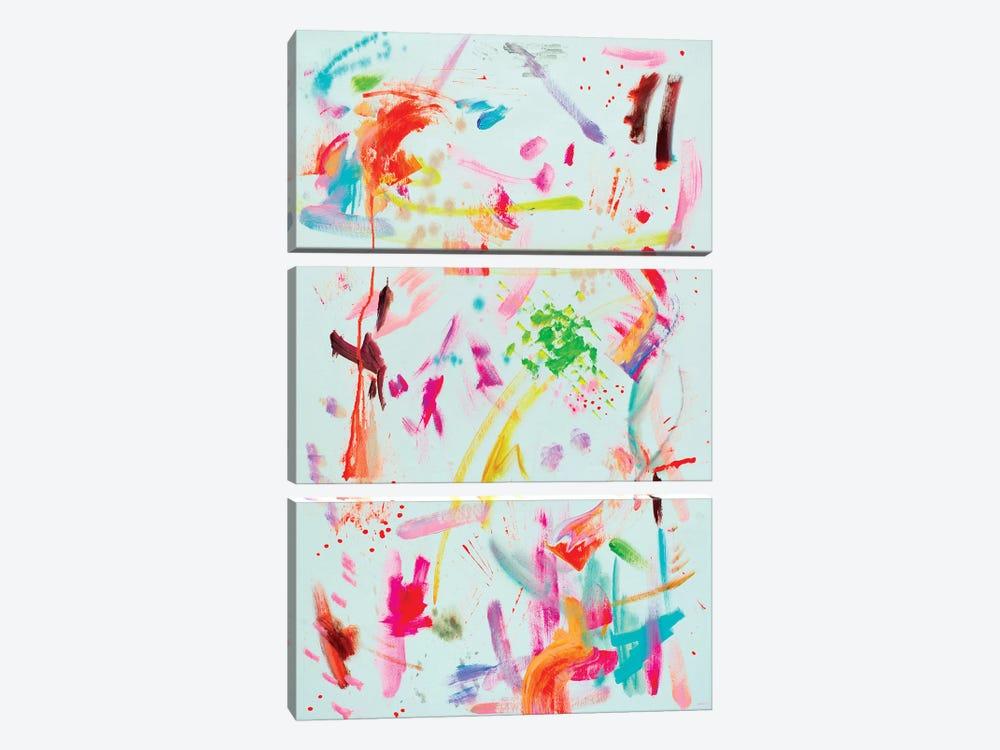 Abstract Composition III by Oleksandr Balbyshev 3-piece Art Print