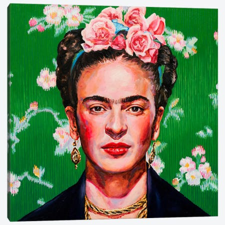 Frida Canvas Print #OBA42} by Oleksandr Balbyshev Canvas Artwork