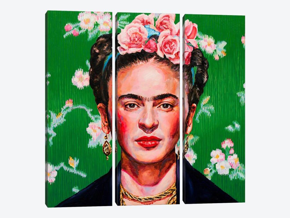 Frida by Oleksandr Balbyshev 3-piece Art Print
