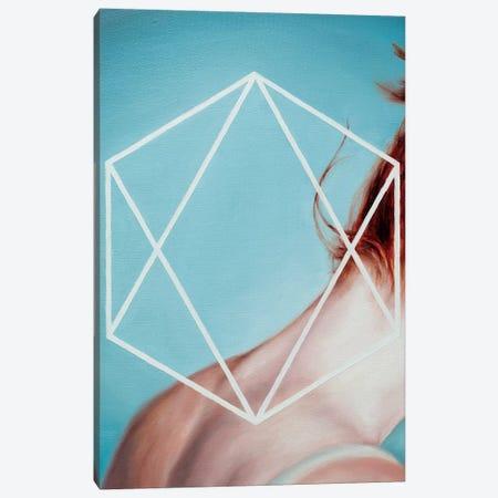 Hexagon 3-Piece Canvas #OBA52} by Oleksandr Balbyshev Art Print