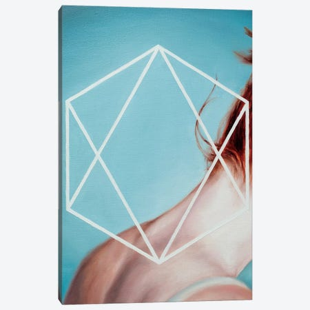 Hexagon Canvas Print #OBA52} by Oleksandr Balbyshev Art Print