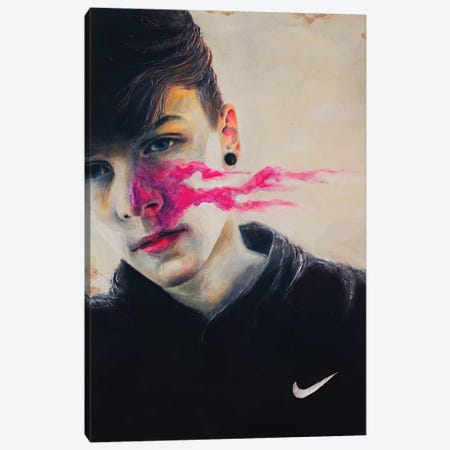 Nike Canvas Print #OBA65} by Oleksandr Balbyshev Canvas Art Print