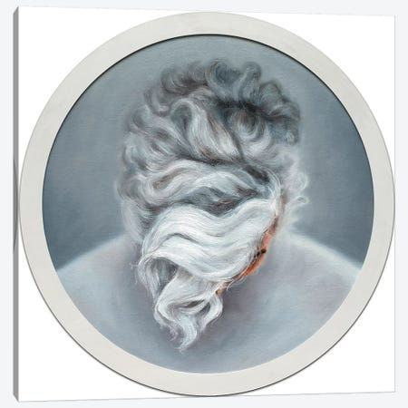 Ashen Hair Canvas Print #OBA6} by Oleksandr Balbyshev Art Print