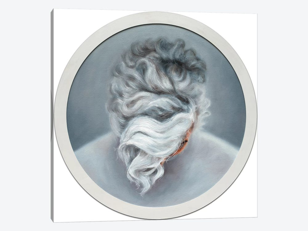 Ashen Hair by Oleksandr Balbyshev 1-piece Canvas Artwork