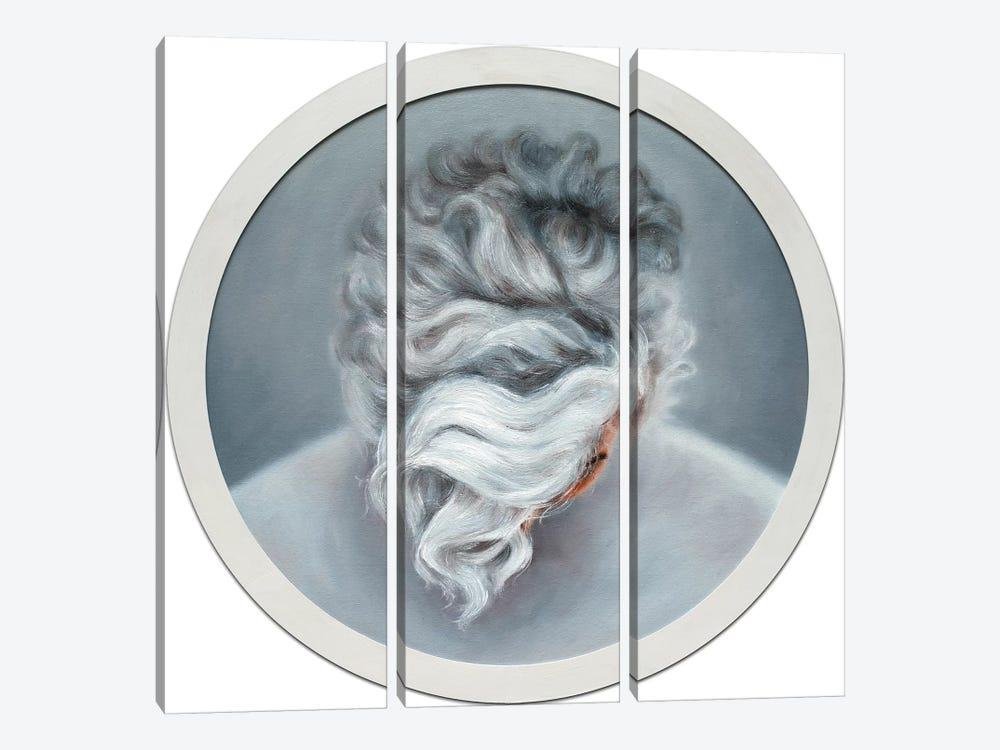 Ashen Hair by Oleksandr Balbyshev 3-piece Canvas Artwork