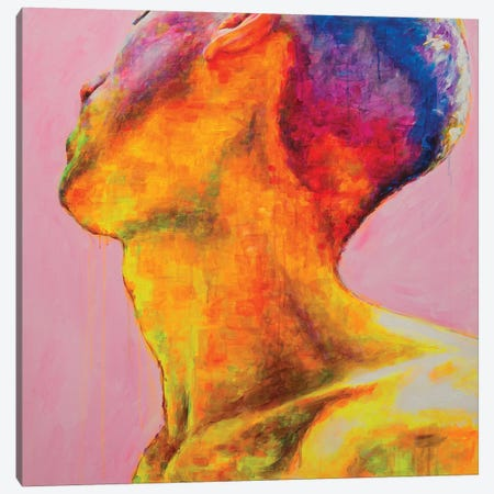 Pixel Boy Canvas Print #OBA77} by Oleksandr Balbyshev Canvas Artwork