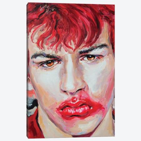 Red 3-Piece Canvas #OBA80} by Oleksandr Balbyshev Canvas Art