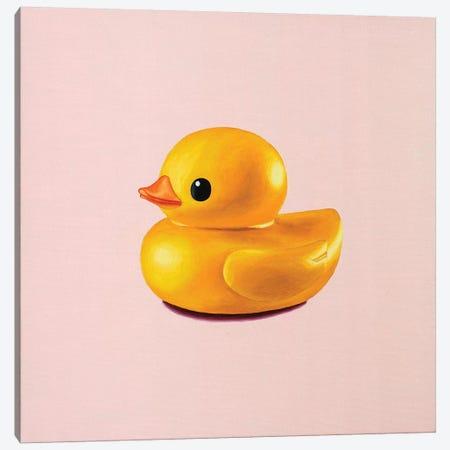 Rubber Duck Canvas Print #OBA85} by Oleksandr Balbyshev Canvas Art Print