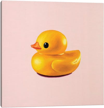 Rubber Duck Canvas Art Print