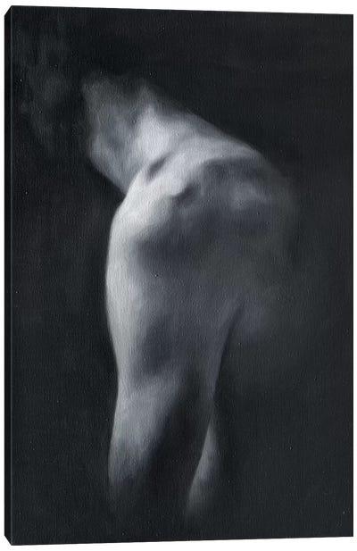 Black & White Torso Canvas Art Print