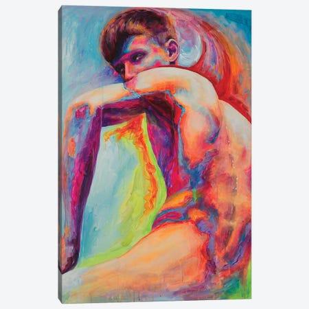 The Demonic Look Canvas Print #OBA99} by Oleksandr Balbyshev Art Print