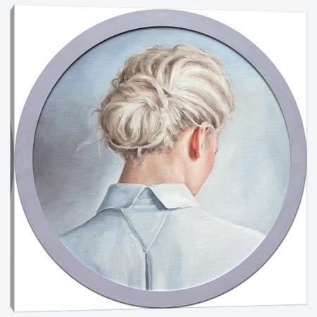 Blonde Hair Canvas Print #OBA9} by Oleksandr Balbyshev Canvas Wall Art