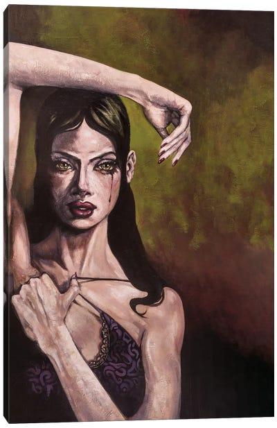 Jade's Tear Canvas Art Print