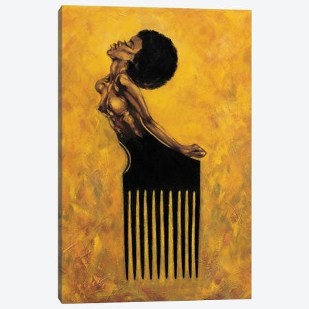 Soul Comb Canvas Print #OBJ13} by Jason O'Brien Canvas Wall Art