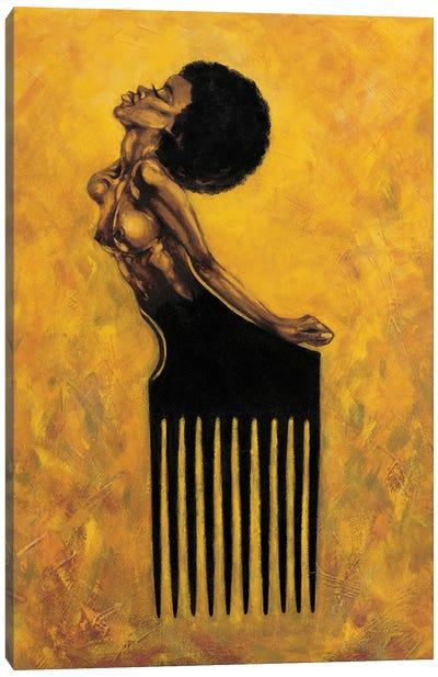 Soul Comb Canvas Art Print