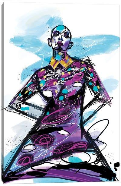 Be Bold Canvas Art Print