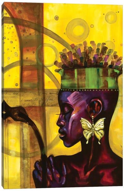 When My Soul Dreams III Canvas Art Print