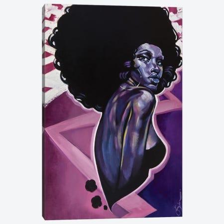 Black Cotton Canvas Print #OBJ4} by Jason O'Brien Canvas Wall Art