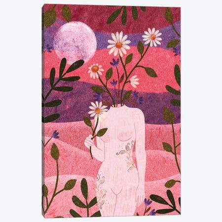 Femininity Canvas Print #OBK12} by Olivia Bürki Canvas Art Print