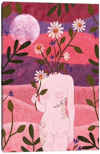 Femininity Canvas Art Print