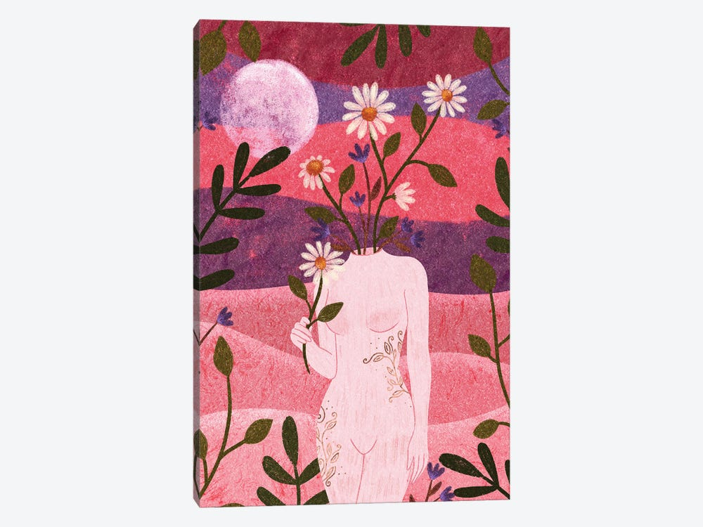 Femininity by Olivia Bürki 1-piece Canvas Artwork