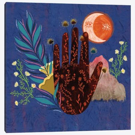Fingertips Canvas Print #OBK13} by Olivia Bürki Art Print