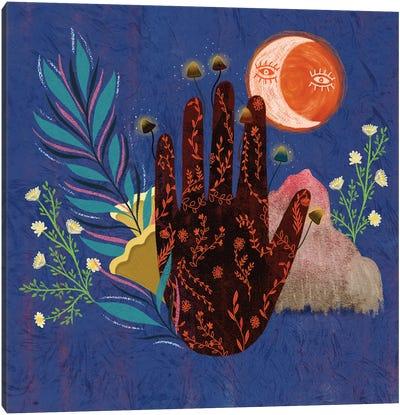 Fingertips Canvas Art Print
