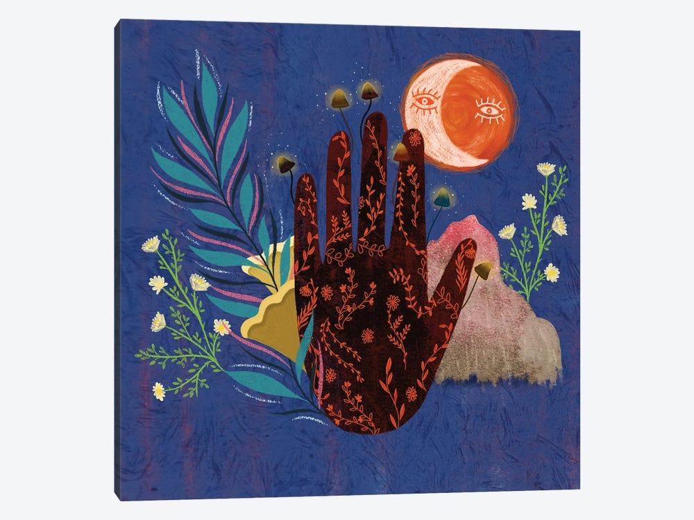Fingertips by Olivia Bürki 1-piece Canvas Art Print