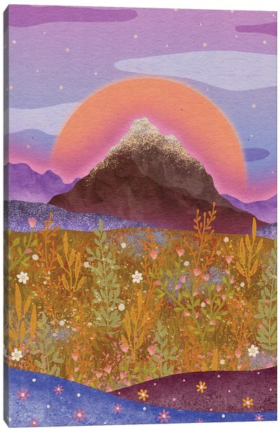 Flower Alp Canvas Art Print