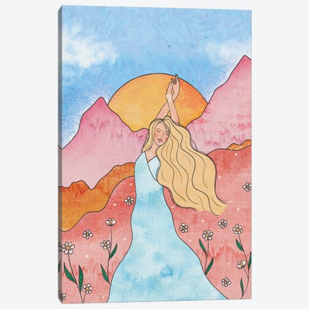 Air Goddess Canvas Print #OBK21} by Olivia Bürki Canvas Art