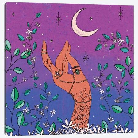 Jasmine & Jewels Canvas Print #OBK23} by Olivia Bürki Canvas Wall Art