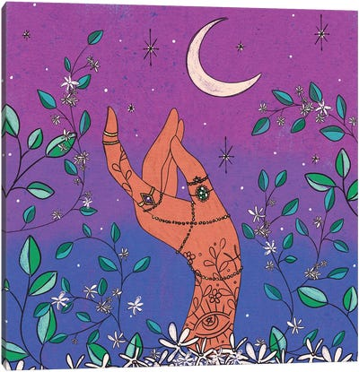 Jasmine & Jewels Canvas Art Print