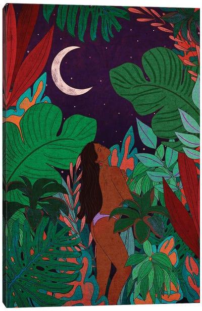 Jungle Beauty Canvas Art Print