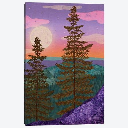 Mystic Woods Canvas Print #OBK31} by Olivia Bürki Art Print
