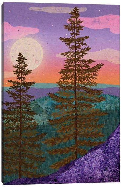 Mystic Woods Canvas Art Print